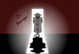Zin Avenger in the Doorway
